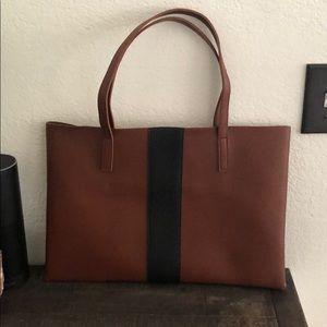 Vince Camuto Vegan Leather Minimalist tote bag